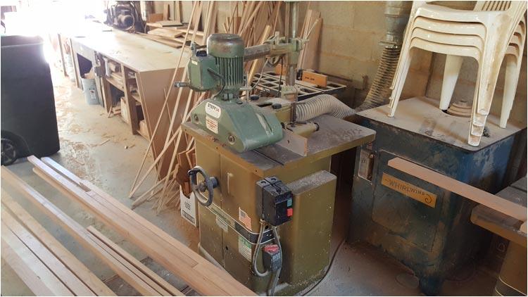 Pneumatic Wood Sander