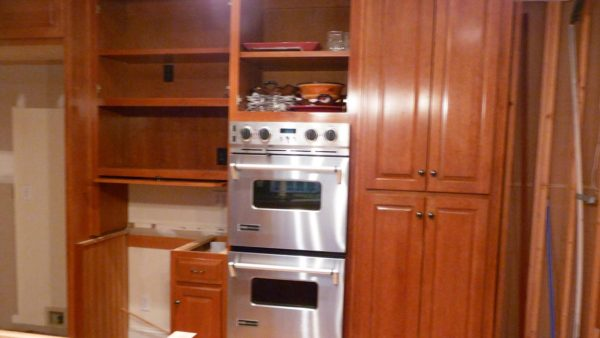 Custom Oven Kitchen Cabinets