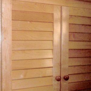 Custom Wood Medicine Cabinet