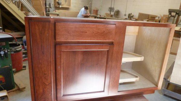 Half Moon Shelving Cabinet