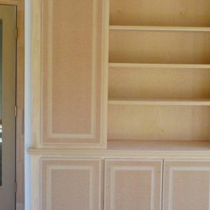 Custom Maple Wall Unit