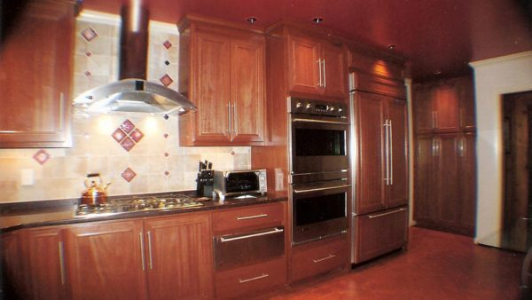 Newport News Mahogany Wood Kitchen